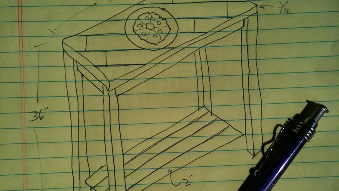 furniture design sketch