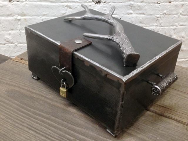 Antler Steel Box