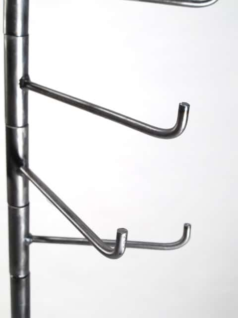 tall metal floor rack for scarves