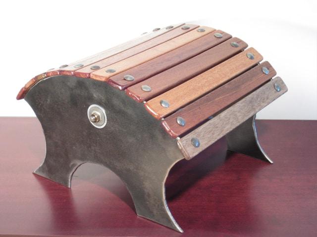 steel toadstool seating