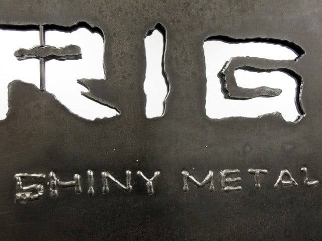 steel wall art riggo design