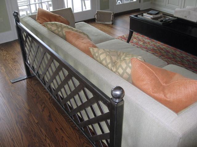 metal display rack for blankets
