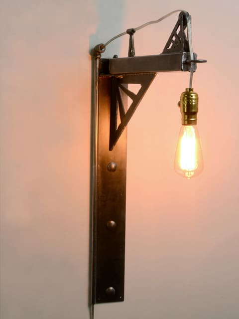 industrial metal hanging light
