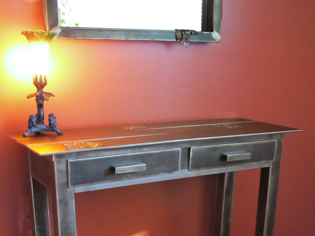 Silver-Maple-Mirror-and-Console-in-Steel-2-640