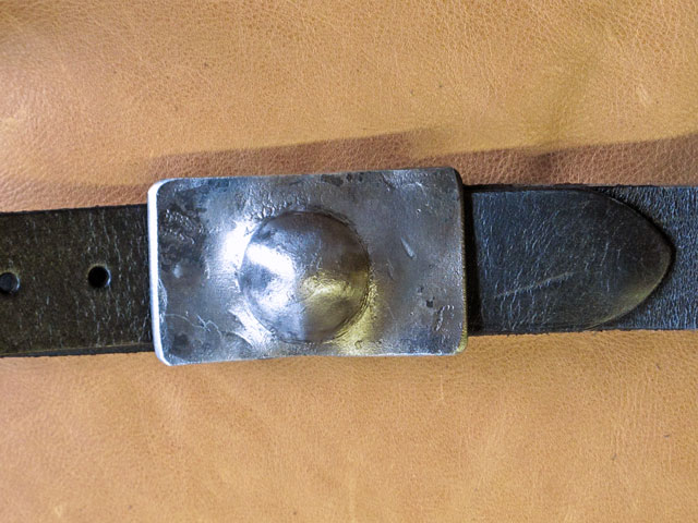 custom steel belt buckle