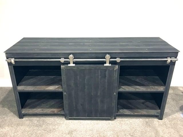 Handmade-Steel-Buffet-Wine-Fridge-Cabinet--Bar