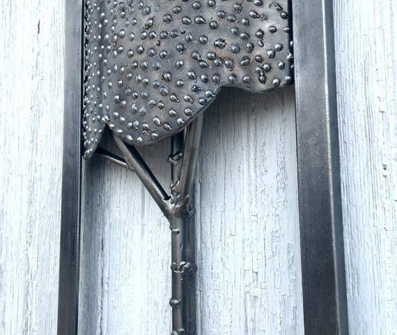 Handcrafted-Small-Steel-Aspen-Art